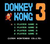 Video Game: Donkey Kong 3