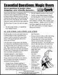 RPG Item: Essential Questions: Magic Users