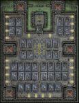 RPG Item: VTT Map Set 277: Penitentiary Cell Block