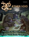 RPG Item: Return of the Ancients