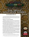 RPG Item: Land of Fire Realm Guide #04: The Great Southern Desert