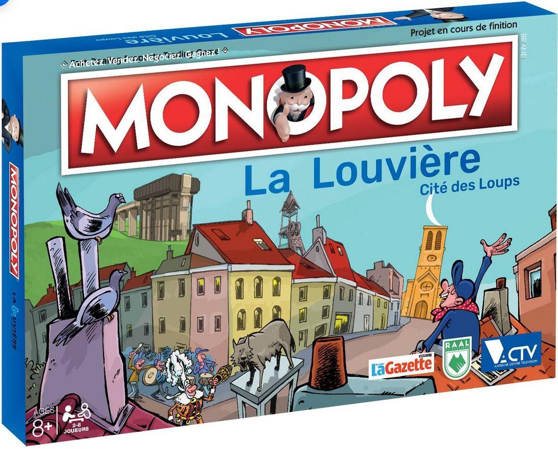 Monopoly: La Louvière – Cité des Loups