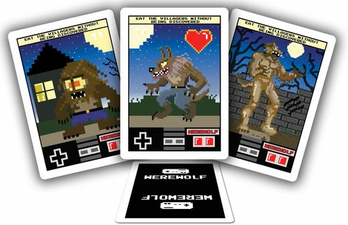 Board Game: 8-Bit Werewolf