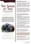 RPG Item: The Sands of Time