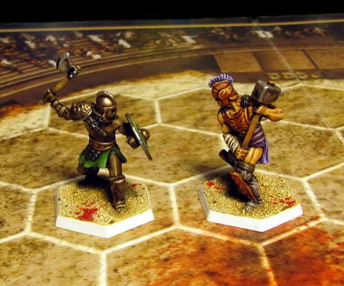Board Game: Spartacus: The Serpents and the Wolf Expansion Set