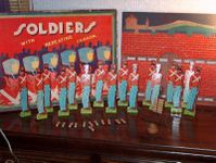 Board Game: Soldiers with Repeating Cannon Game