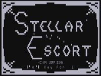 Video Game: Stellar Escort