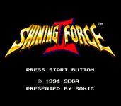 Video Game: Shining Force II