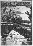Issue: Anonima Gidierre (Numero 19 - Novembre/Dicembre 1998)