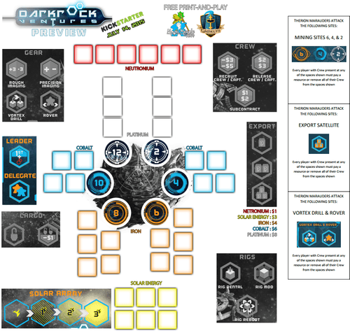 Board Game: Darkrock Ventures