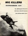 Board Game: MiG Killers Expansion Kit