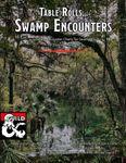 RPG Item: Table Rolls... Swamp Encounters