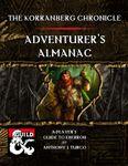 RPG Item: The Korranberg Chronicle: Adventurer's Almanac