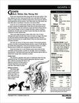RPG Item: Goats