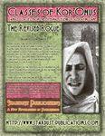 RPG Item: Classes of Kor'Onus: The Revised Rogue