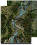 RPG Item: GameMastery Flip-Mat: Deep Forest