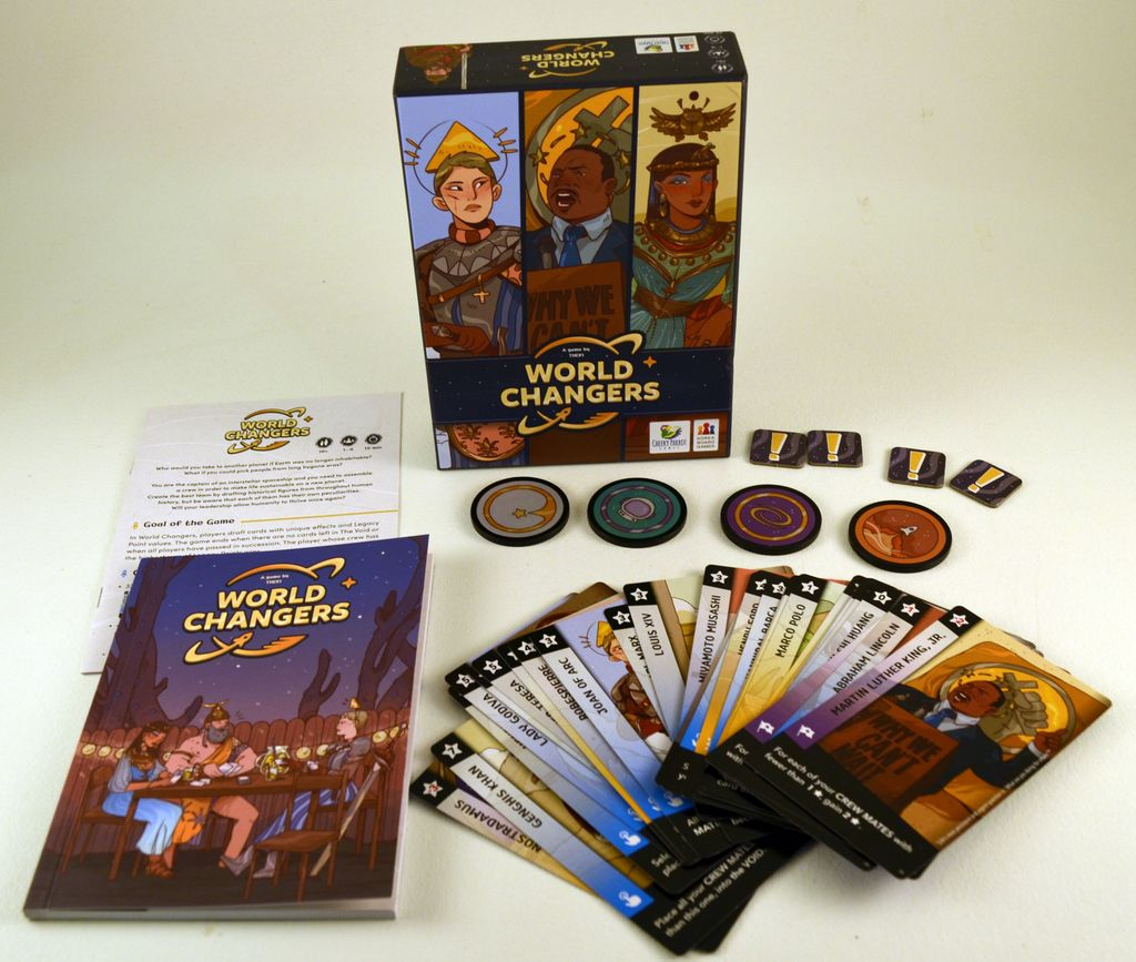 Board Game: World Changers