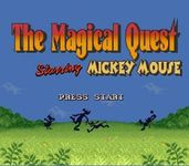 Video Game: The Magical Quest starring Mickey Mouse
