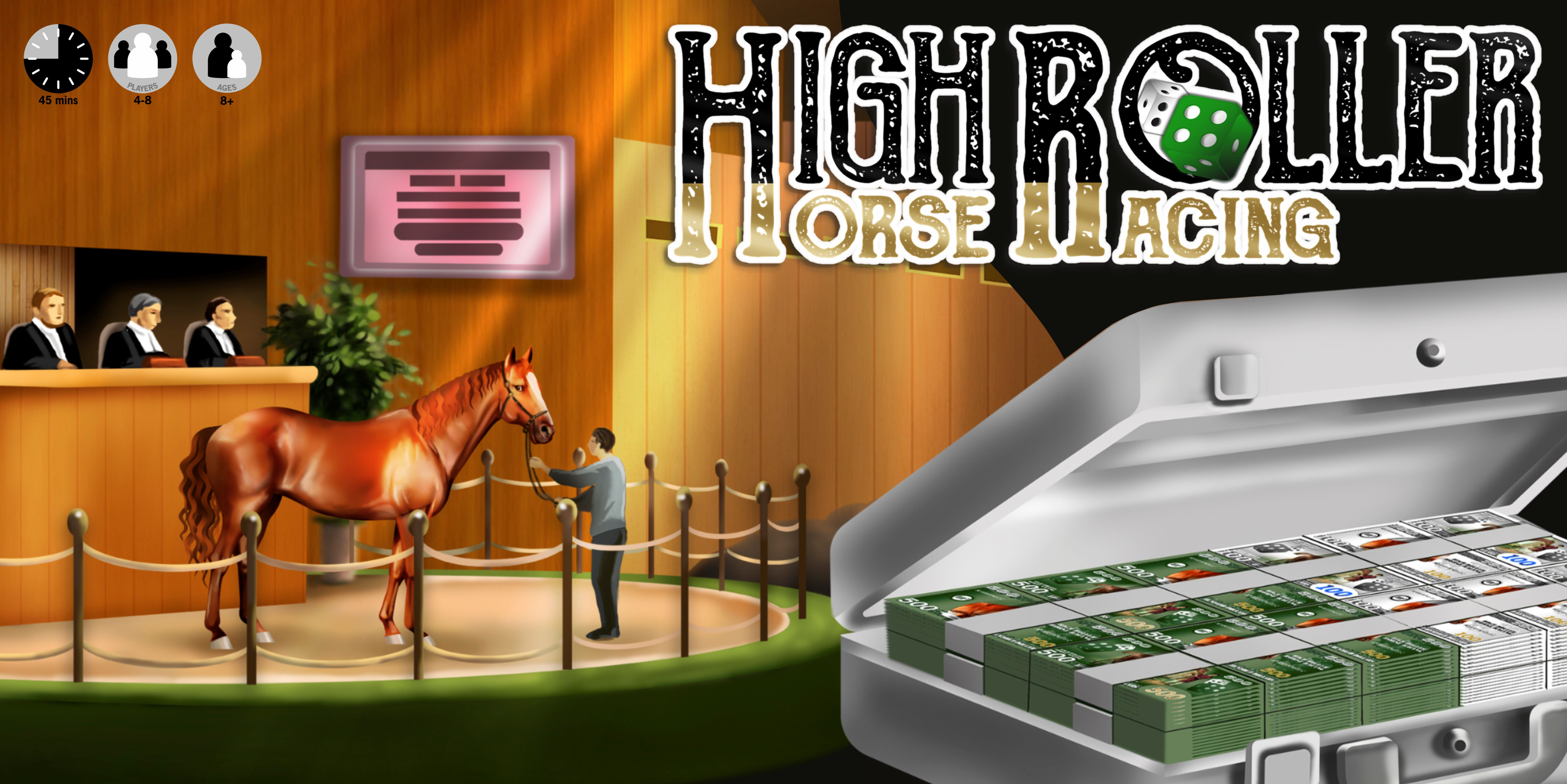 High Roller Horse Racing