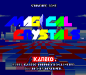 Video Game: Magical Crystals