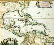RPG Item: Antique Maps 04: Carribean of the 1600's