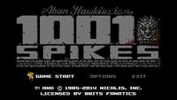Video Game: 1001 Spikes