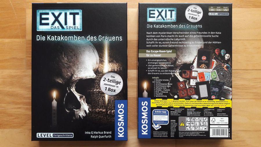 Box front & back - German Edition