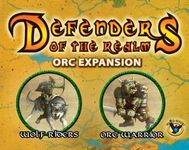 Board Game: Defenders of the Realm: Minions Expansion – Orcs