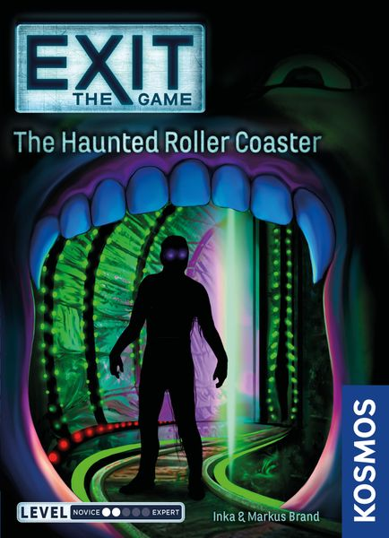 Exit: The Game – The Haunted Roller Coaster, KOSMOS, 2019 — front cover (image provided by the publisher)