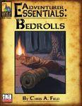 RPG Item: Adventurer Essentials: Bedrolls