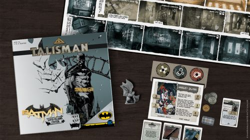 Board Game: Talisman: Batman – Super-Villains Edition