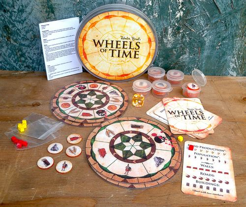 Board Game: Wheels of Time