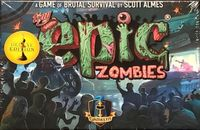 Board Game: Tiny Epic Zombies: Deluxe Edition