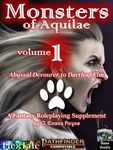 RPG Item: Monsters of Aquilae Volume 1 (PF2)