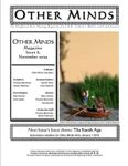 Issue: Other Minds (Issue 8 - Nov 2009)