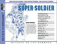 RPG Item: Archetypes: Super-soldier