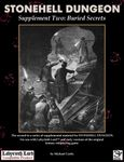 RPG Item: Stonehell Dungeon Supplement Two: Buried Secrets