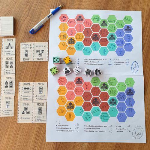 Board Game: Merkez