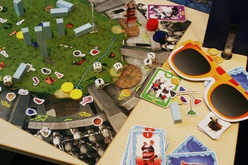 Board Game: Rabbids: Das Familien-Partyspiel