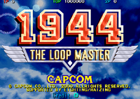 Video Game: 1944: The Loop Master