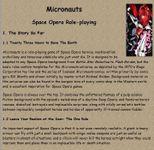 RPG Item: Micronauts