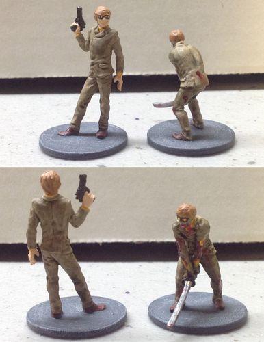 Board Game: Zombicide Survivor: Thiago