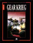RPG Item: Gear Krieg Player's Handbook Second Edition