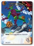Board Game Accessory: Marvel Masterpiece Trading Card: Green Goblin