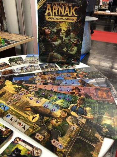 Board Game: Lost Ruins of Arnak: Expedition Leaders