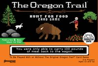 Thumbnail for The Oregon Trail: Hunt for Food Card Game