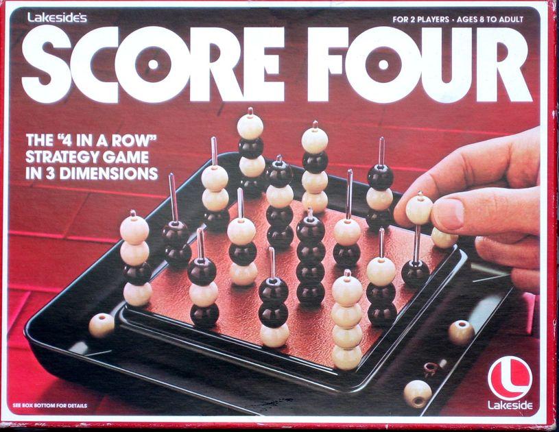 Score Four | Board Game | BoardGameGeek