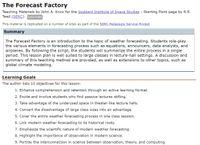 RPG Item: The Forecast Factory