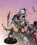 Board Game Accessory: Descent: Road to Legend Lieutenants – Krieg the Relentless