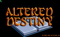Video Game: Altered Destiny